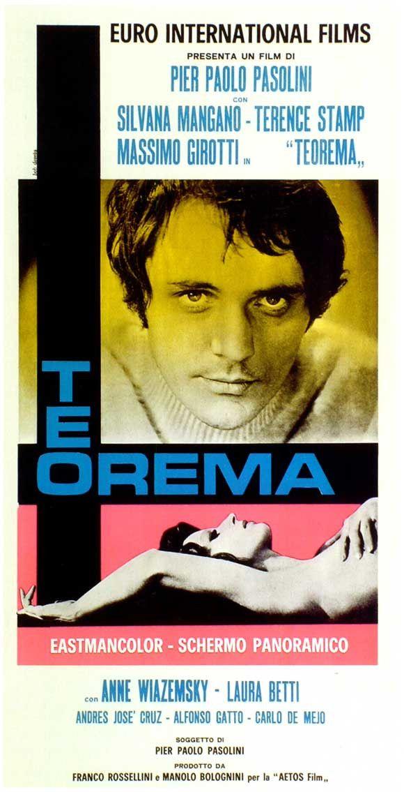 Teorema (Italian) 20x40 Movie Poster (1968)