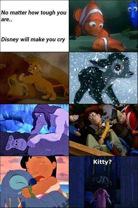 Previous pinner: Six Hilarious Disney Memes.... bullcrap these aren't hilarious they are soooo sad!!!