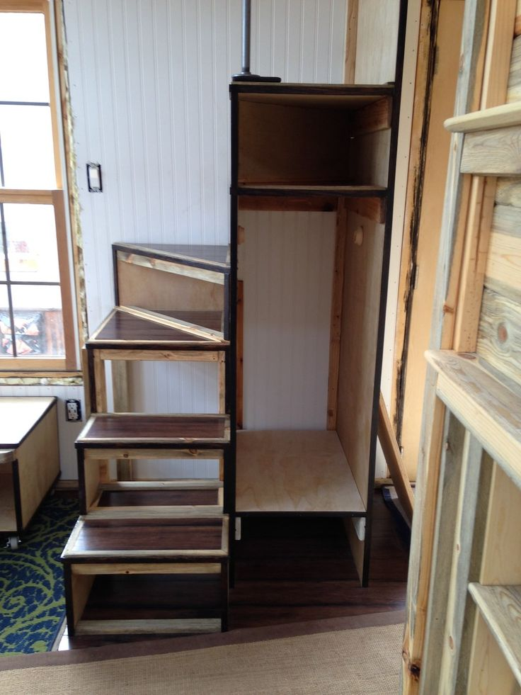 17 Best ideas about Tiny House Stairs on Pinterest Tiny house