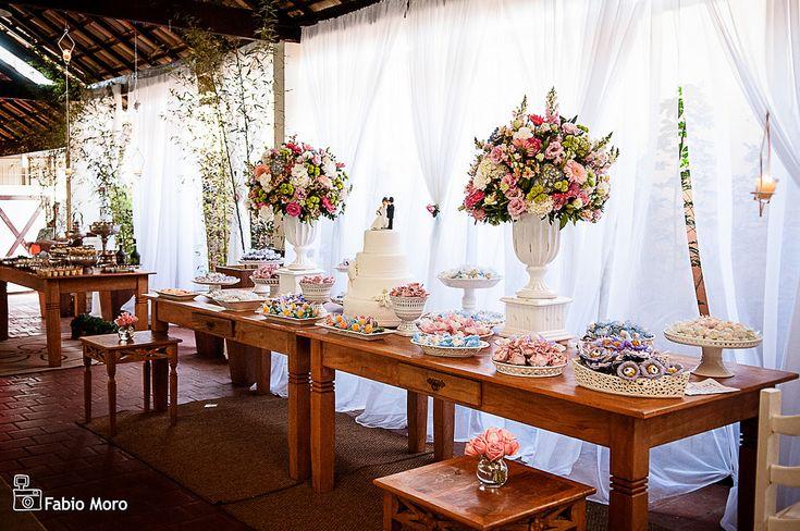 Decoração de Casamento Rústico Romantico   Flickr - Photo Sharing!