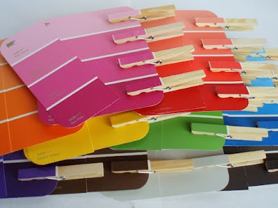 Paint Chip Shade Matching - Fine Motor ActivityPinned by @PediaStaff. - Please Visit http://ht.ly/63sNt for all our pediatric therapy pins