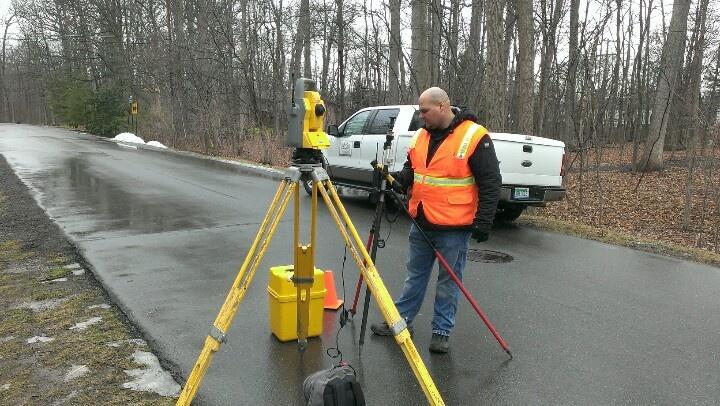 Boundary Survey in Bingham Farms, Oakland County, Michigan, USA