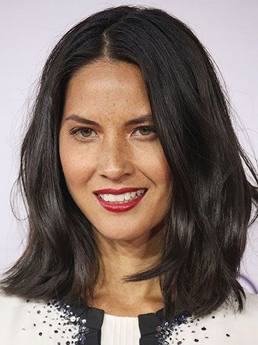 Knockout Date-Night Hairstyles: Olivia Munn She has Trichotillomania  beautiful hair!    It doesn't just effected the head area. Thats just the most common.