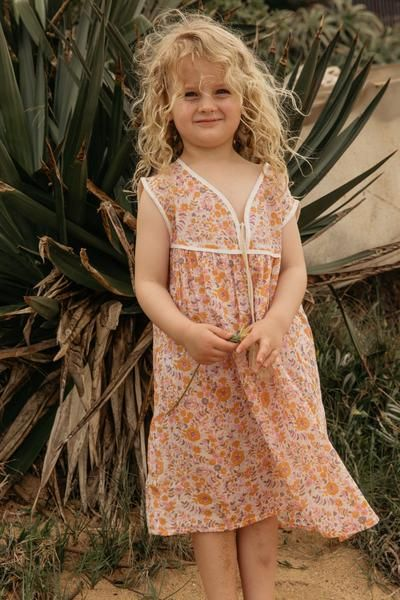 e05e824396c1 Little Luna Sleeveless Dress - Bloom | tessie's style | Dresses ...