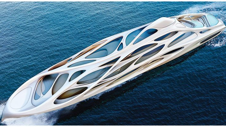 Zaha Hadid and Blohm + Voss Jazz concept