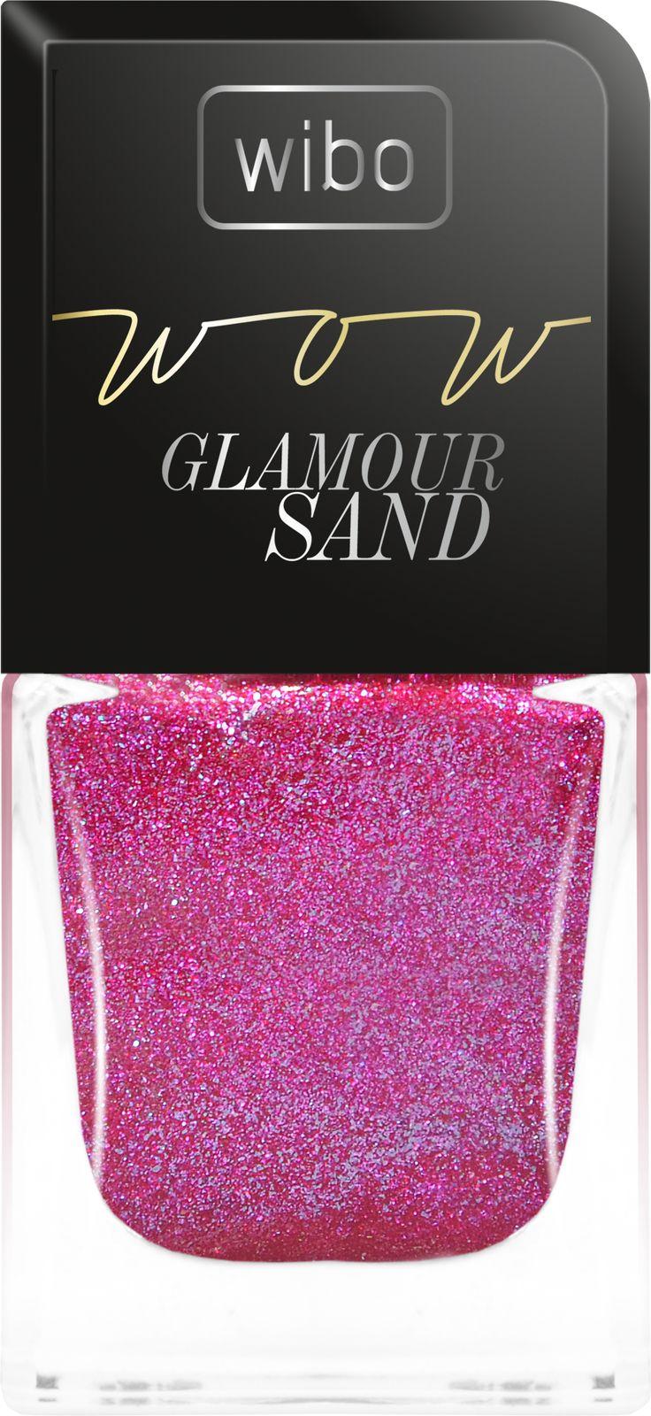 lakier do paznokci WOW Glamour Sand  nowość październik 2014r.!  #wibo #wibopl #wibokosmetyki #nails #glamoursand