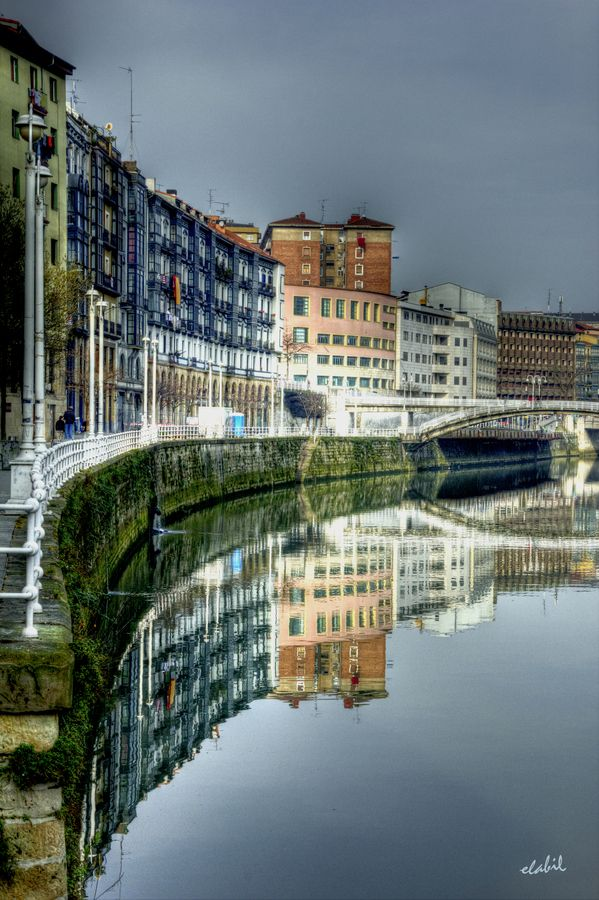 ****Old Bilbao, Spain