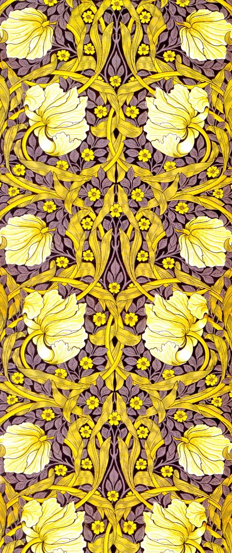 William Morris wallpaper design (arts & crafts movement)! It so beautiful! I do not know the author of this picture is, but I chose it because I think it is relevant to understand the content I'm looking for!
