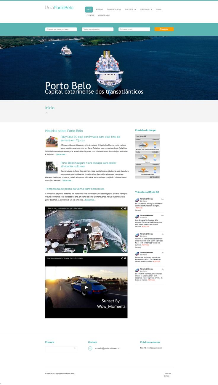 Advertise your restaurant, property for rent, guest house, shop, or boat ride to the thousands of tourists who visit #Porto #Belo! Showcase by AIT Business Finder #Wordpress theme