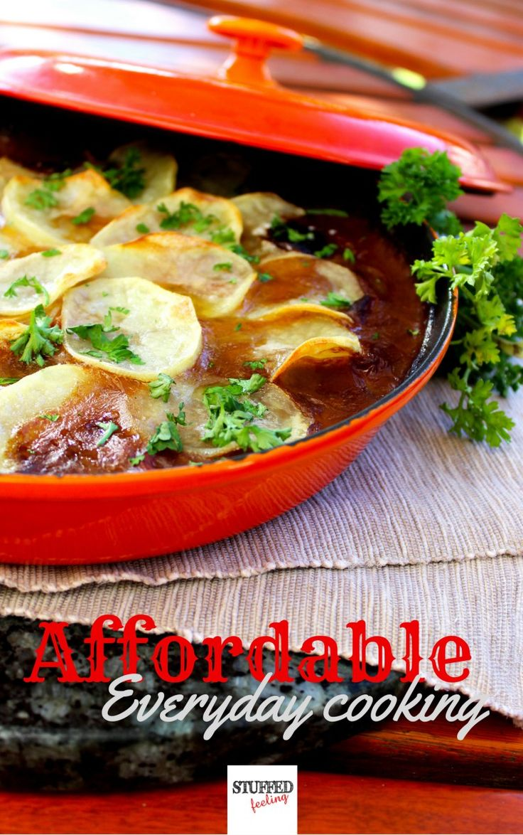 Affordable, everyday cooking recipe ebook