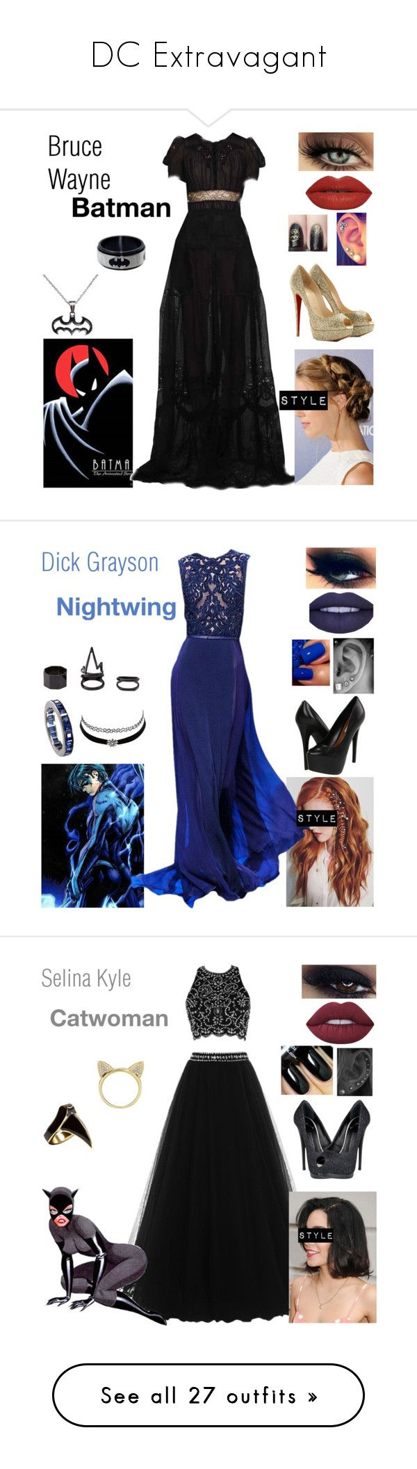 """""""DC Extravagant"""" by queenreigns-916 ❤ liked on Polyvore featuring Emilio Pucci, Christian Louboutin, The Lip Bar, Steve Madden, Cartier, Charlotte Russe, Giuseppe Zanotti, Lime Crime, Aamaya by Priyanka and DJ By Dominic Jones"""