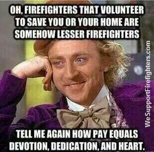 Volunteer firefighters                                                                                                                                                                                 More