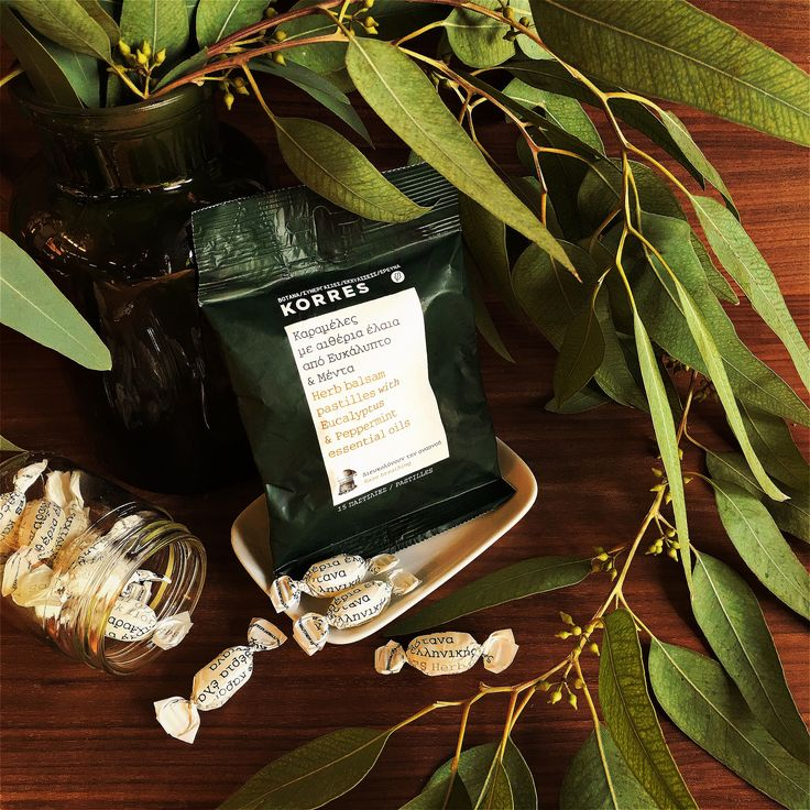 Eucalyptus & Peppermint Essential Oils Herb Balsam Pastilles #korres #herbalpharmacy