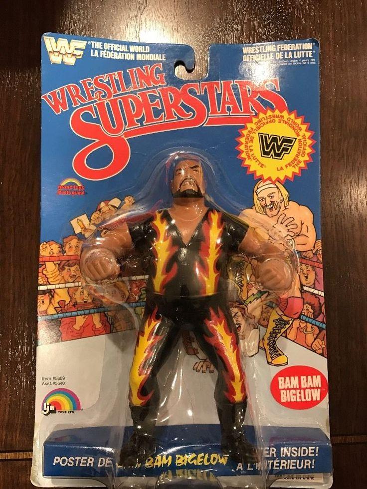 WWF/WWE LJN Wrestling Superstars Bam Bam Bigelow #LJN