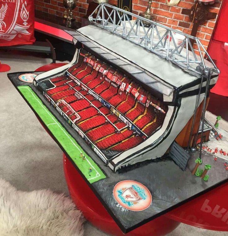 Main Stand - Anfield - cake!
