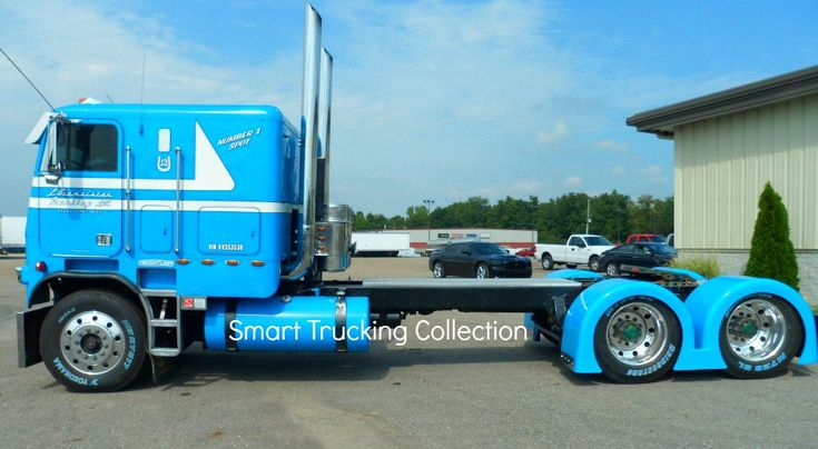 Beautiful Cabover In Robin Egg Blue Awesome Paint Scheme