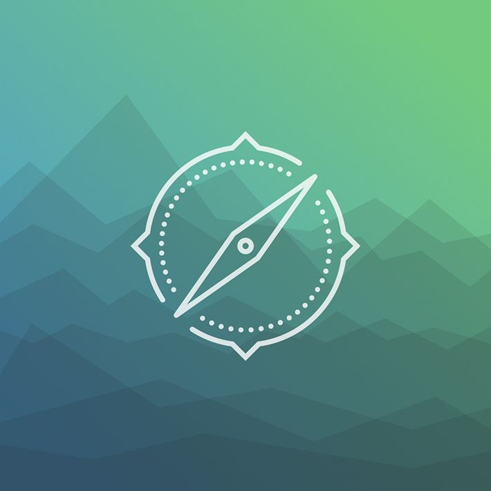 Behance :: Icon compass by Maximilian Ritter