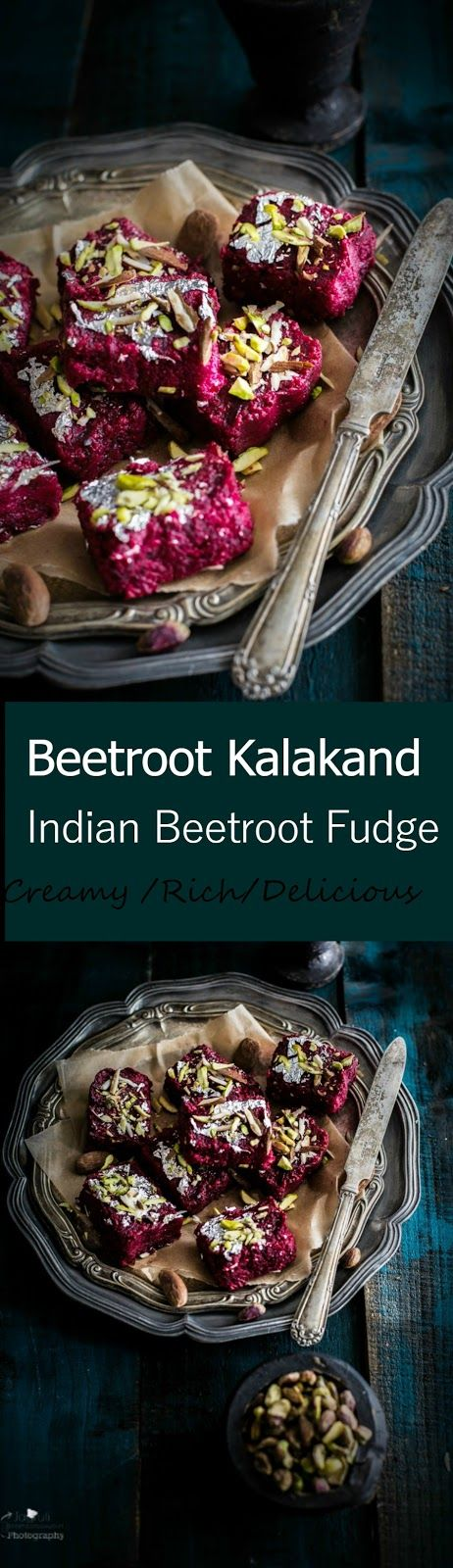 Jagruti's Cooking Odyssey: Beetroot Kalakand - Indian Beetroot Fudge #Diwalispecial