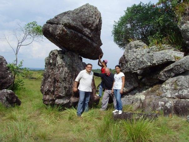 Ciudad de Piedra. Departamento del Guaviare.