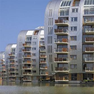 Armada, Paleiskwartier 's-Hertogenbosch.  Architect: Anthony (Tony) Mc Guirk van Building Design Partnership