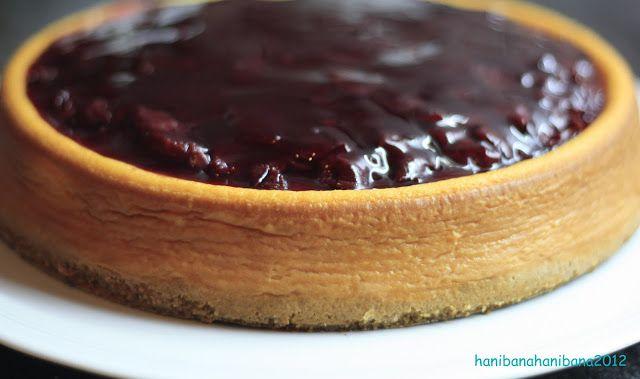 hani bana hani bana: Tarif No: 38 Vişneli Cheesecake