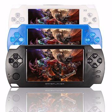 X8 Ultra-Thin 8G Video Touch Screen with Video MP3 Player Camera Handheld Retro Game Console Sale - Banggood.com