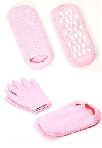 Oferta: 19.99€. Comprar Ofertas de Pinkiou Soften SPA Gel Hidratante guantes y calcetines para hidratar el cuidado de la piel agrietada (Rosa) barato. ¡Mira las ofertas!