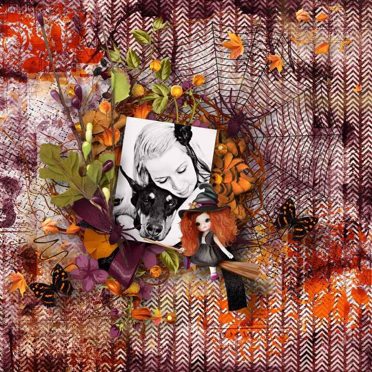 """Happy Halloween"" by Eudora Designs, https://pickleberrypop.com/shop/product.php?productid=53868&page=1, photo Yama, Pixabay"