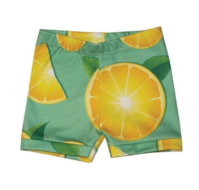 When life hands you lemons ... make lemon shorts.Tiny Fashion,  Bath Trunks, Lemon Shorts, Haute Tots, Swimming Trunks, Baby Fashion, Life Hands