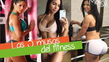 Las 3 musas del fitness Eva Andressa, Lisa Morales y Michelle Lewin