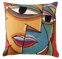 Picasso Dual Face Cushion