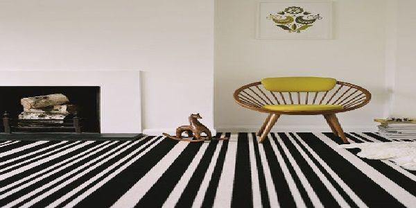 Decorating with Striped Carpet