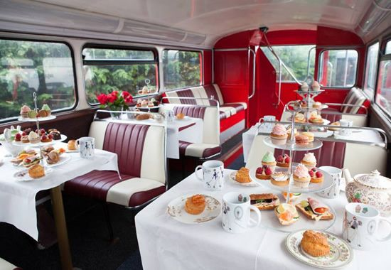 BB Bakery London Afternoon Tea Bus Tour - London, cakes & tea what's not to like ☕️