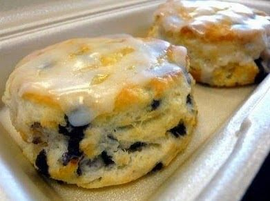 Recipe Blue Berry Biscuits