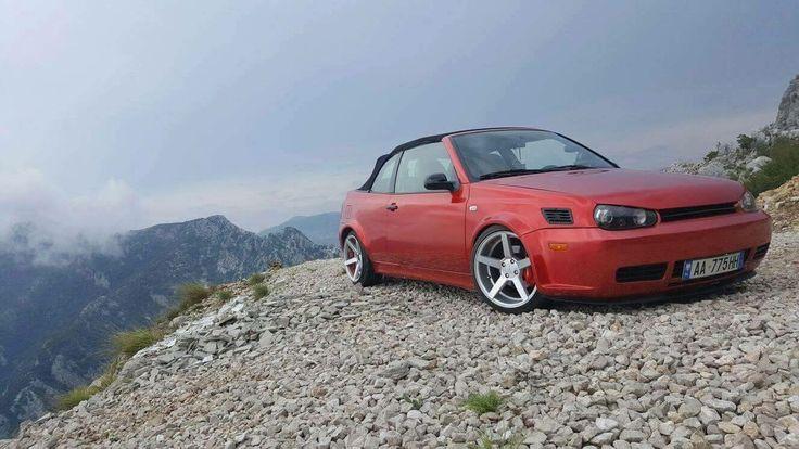#Volkswagen #Cabrio #Golf #Mk4 #Modified #Slammed #Stance