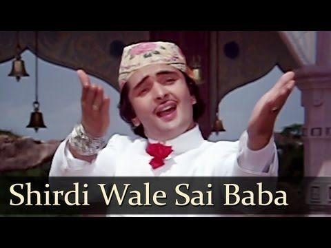 Shirdi Wale Sai Baba - Rishi Kapoor - Mohd. Rafi - Amar Akbar Anthony - Old Hindi Songs - YouTube