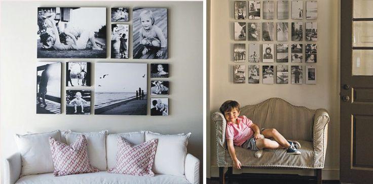 Decoração com fotos das crianças | Baby Dicas