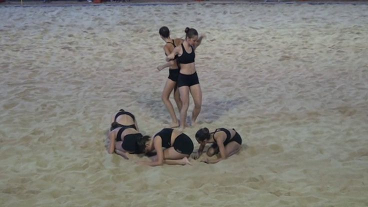 Danza Moderna - Mundial Beach Soccer 26/07/2017 - Porto Sant' Elpidio (FM)
