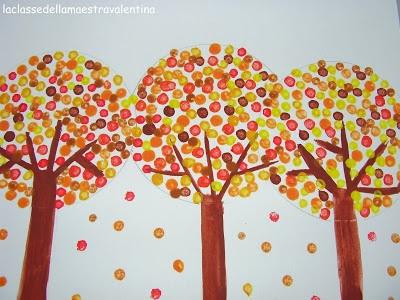 Easy Autumn Art--  La classe della maestra Valentina: UN PENNELLO UN PO' SPECIALE