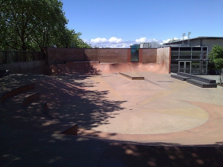 Seattle Center skate park