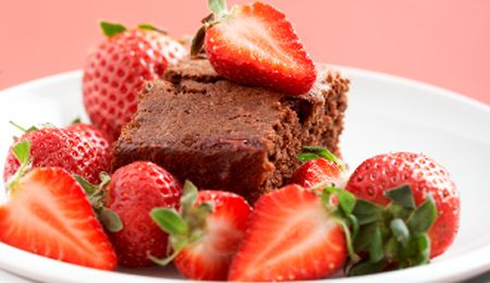 Chocberry Pudding (low GI & low fat)