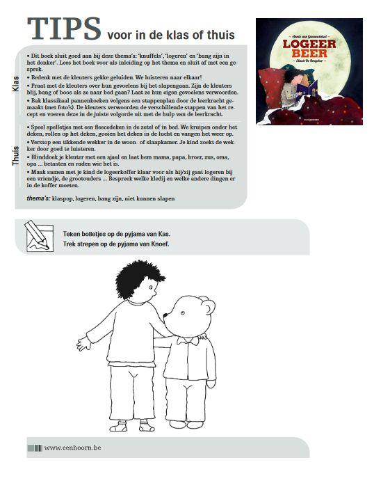 Lestips bij prentenboek 'Logeerbeer'
