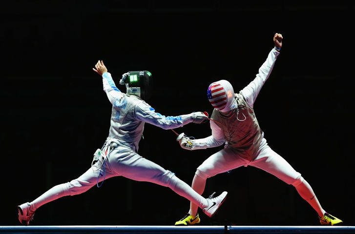 rio olympic fencing usa - Google Search
