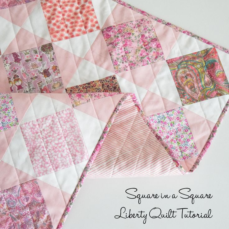 Liberty Love!  Tutorial on how to make this sweet quilt.