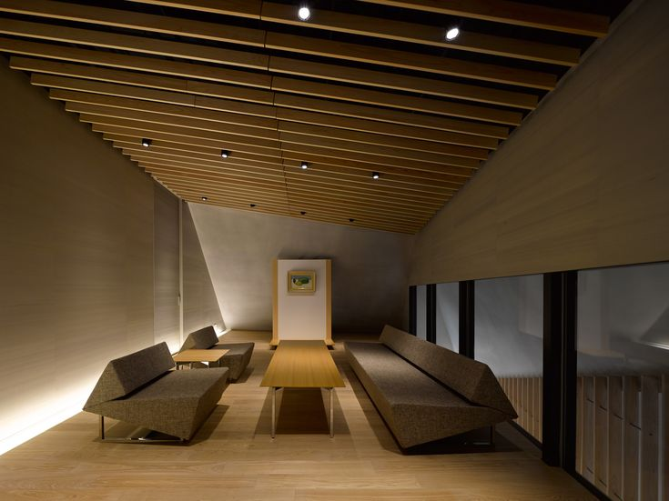 Plafon de madera para doble sala