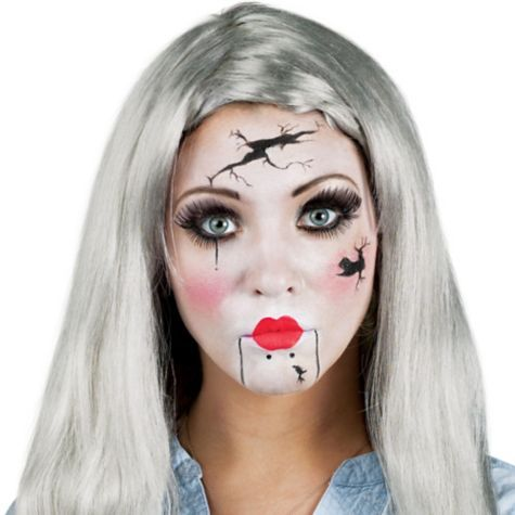 broken doll make up kit special effects makeup shop all categories costume accessories halloween costumes categories party city canada - All Halloween Costumes Party City