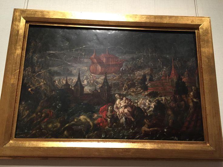 "Cristóbal de Villalpando, ""The Deluge,"" 1689, Metropolitan Museum of Art"