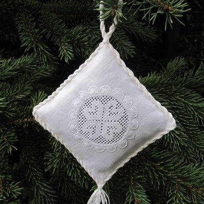 Weihnachtsbaumschmuck: Kissen | Luzine Happel