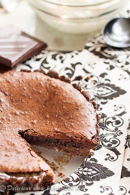 Salted caramel is encased in chocolate pastry and topped with a gooey chocolate topping. This salted caramel chocolate tart is the ultimate in decadent.