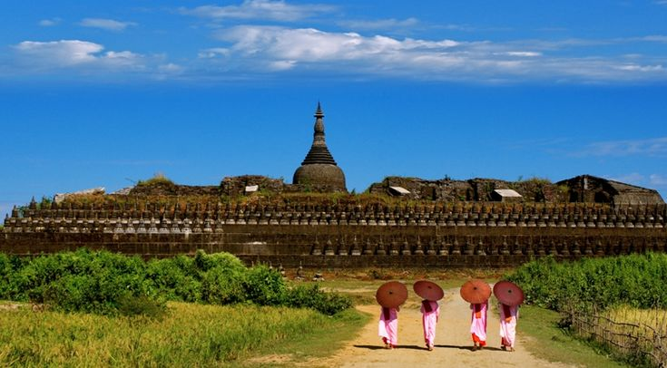 Mrauk U (Town in Myanmar) is an archaeologically important town in northern Rakhine State, Myanmar. It is also the capital of Mrauk-U Township
